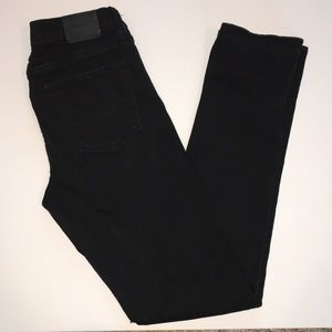Lucky Brand Black Brooke Straight Jeans